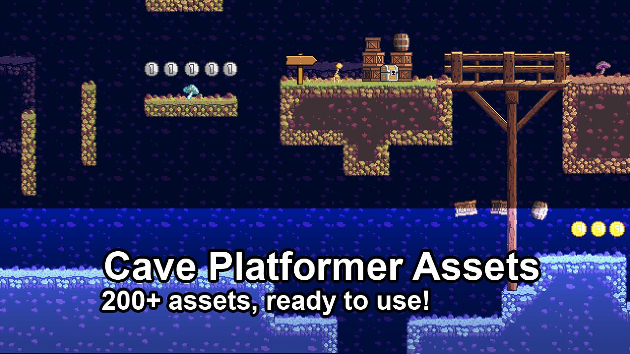 Cave Platformer Assets