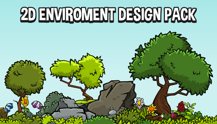 2d enviroment design pack