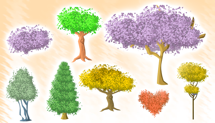 Tree and Shrub Asset Package