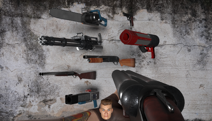 Classic Shooter Weapons Pack Extended