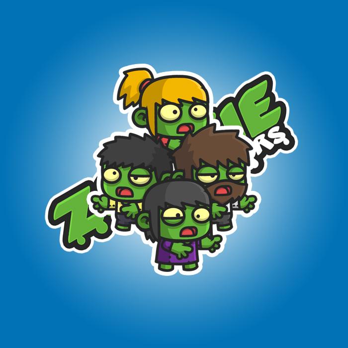 Mini Zombie 2 Characters