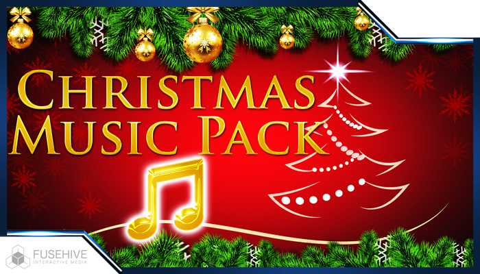 CHRISTMAS MUSIC PACK – Christmas & Winter Holiday Background Music Loop and Sting Library