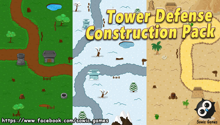 Tower Defence Construction Pack