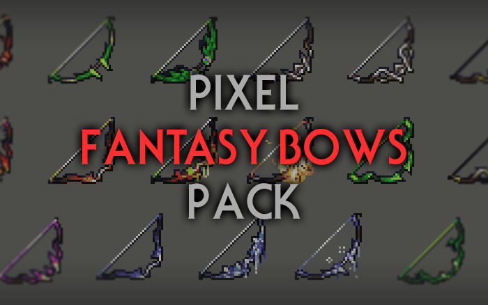 Fantasy Bows – RPG Inventory Icons