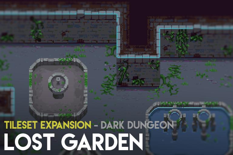 Lost Garden – Tileset Expansion