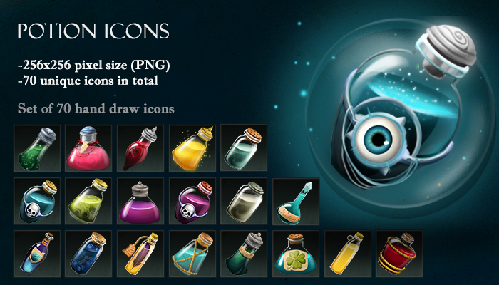 Potion Icons