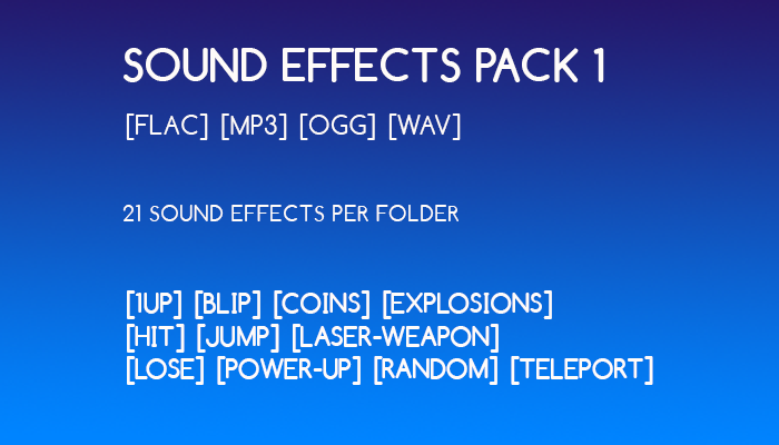 Sound effects Pack 1