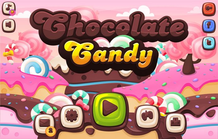 Chocolate Candy – Game GUI