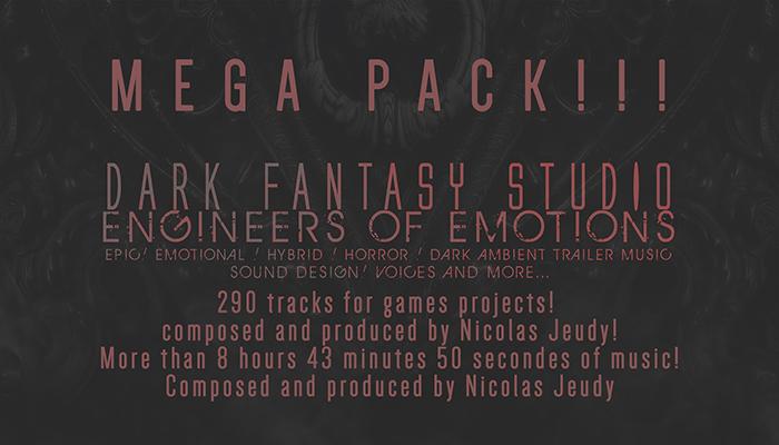 Dark Fantasy Studio- MEGAPACK!!!
