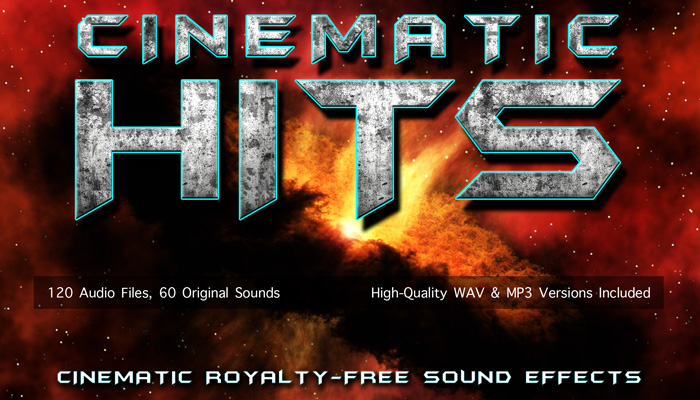 CINEMATIC HITS – Movie Trailer Impact Sound Effects