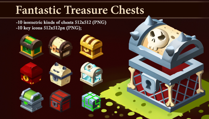 Fantastic Treasure Chests