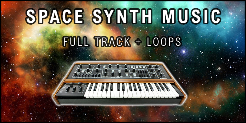 Space Synth Track + Loops