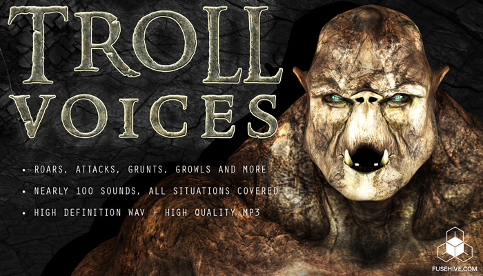 TROLL VOICE – Fantasy Monster Voice Sound Effects Download