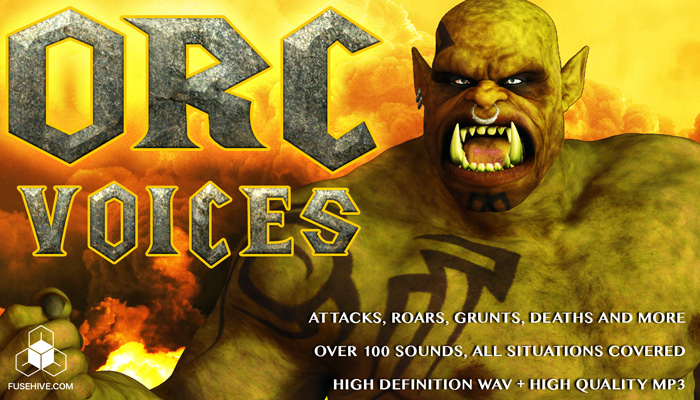 ORC VOICE – Royalty Free Monster Voice Sound Effects Download
