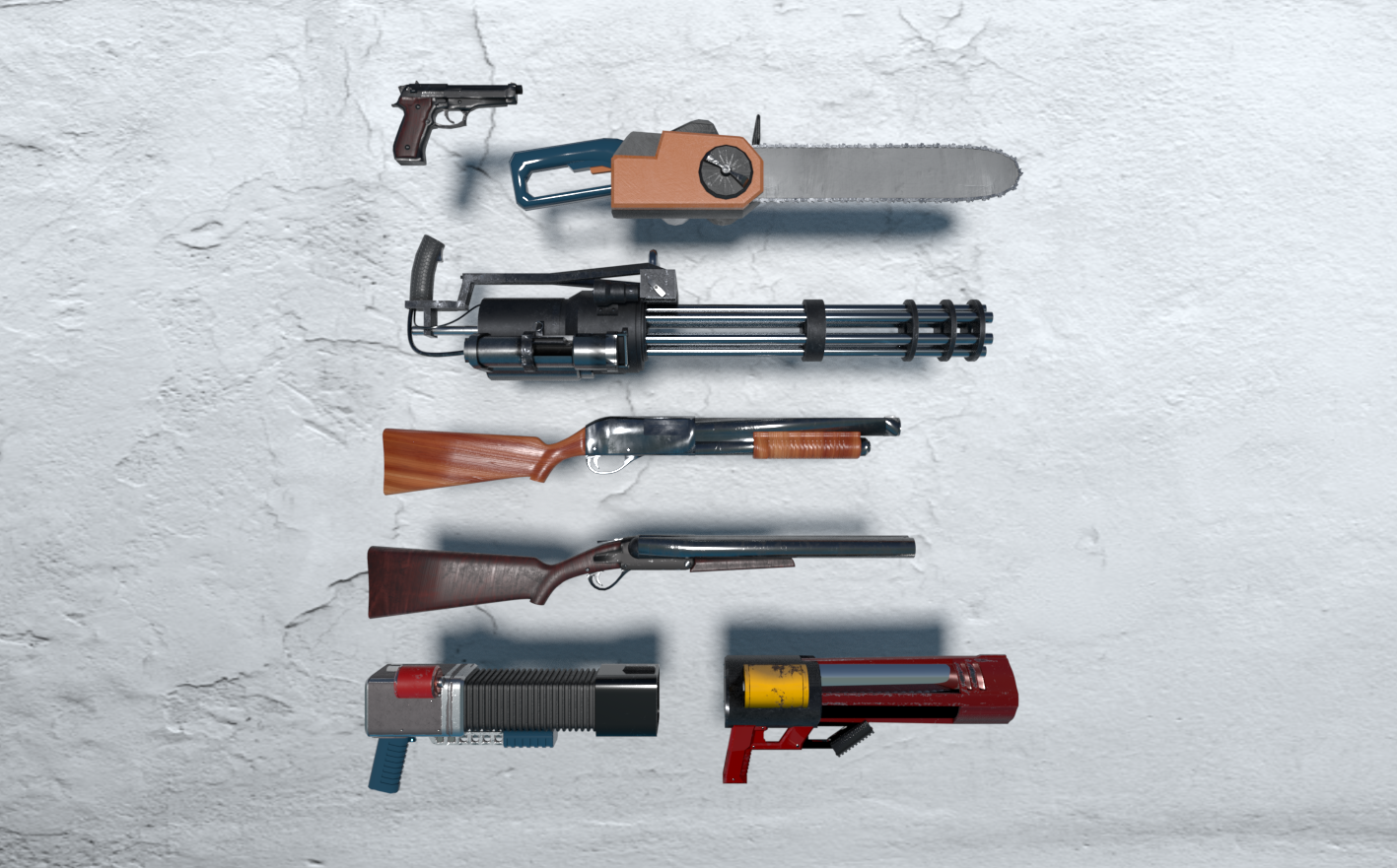 Classic Shooter Weapons Pack