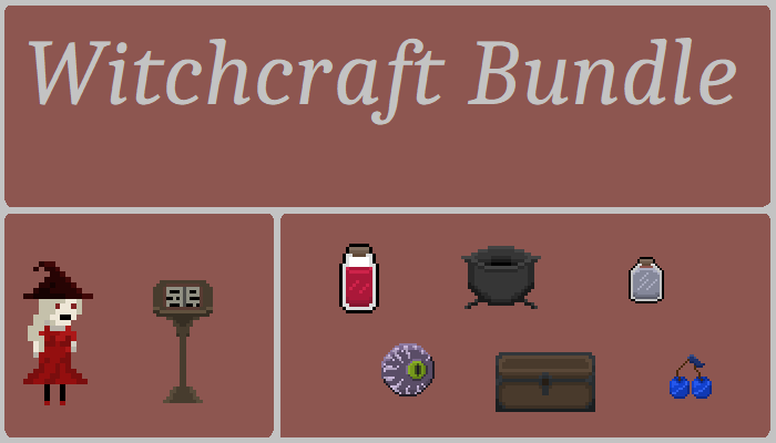 Witchcraft Style Assets Bundle