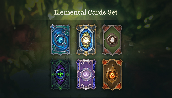 Elemental Cards Set
