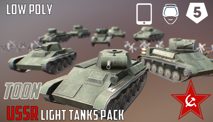 USSR Toon Light Tanks