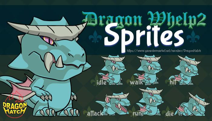 Dragon Whelp 2 Sprites