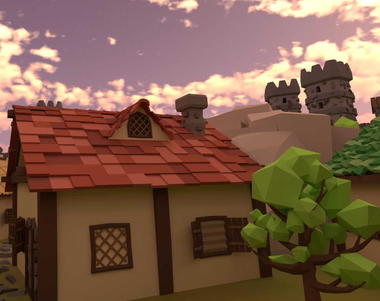 200+ Medieval 3D Game Assets
