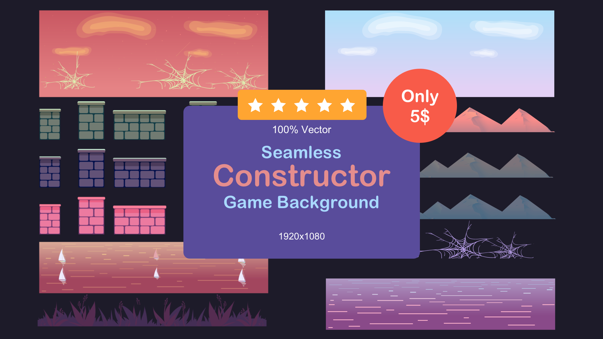 Game Background Constructor