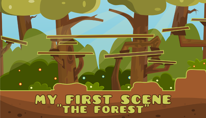 My First Scene – The Forest