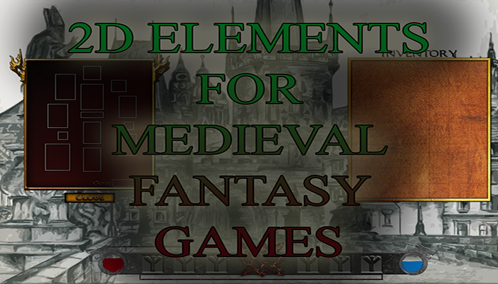 2D Elements For Medieval Fantasy Games