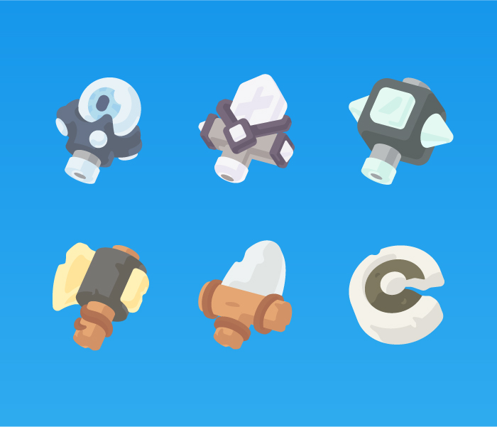 Cute Weapon Icons