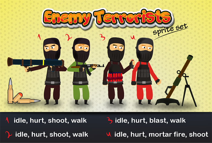 Enemy Terrorists