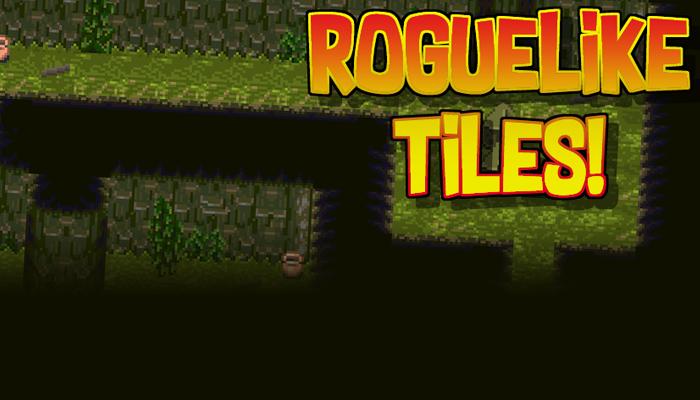 9 Roguelike Tilesheets