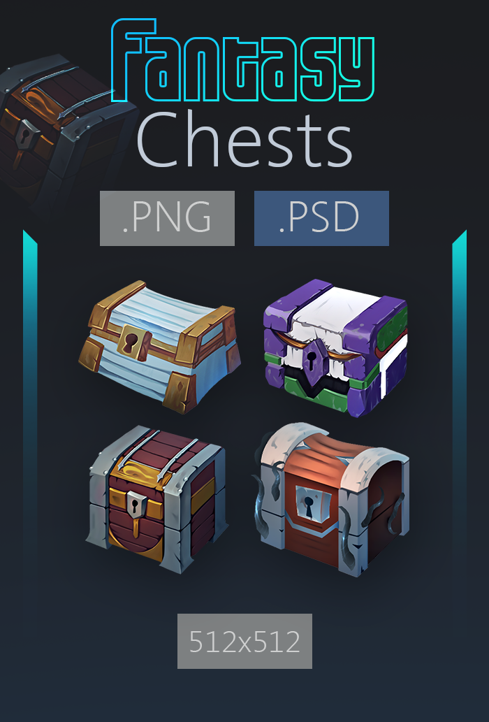 Fantasy Chests Pack