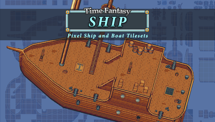 RPG Ship Tileset