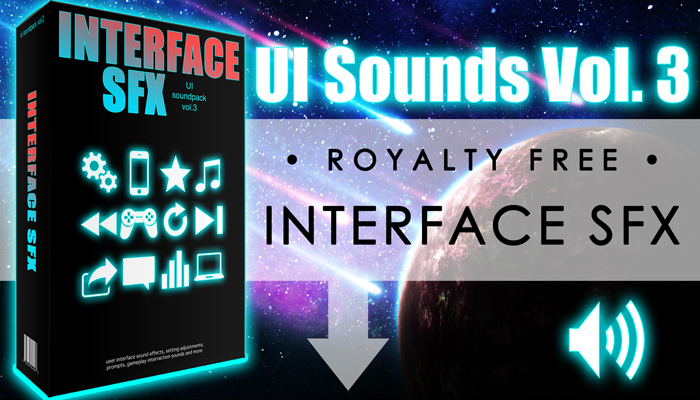 Interface SFX – UI Sounds Vol. 3