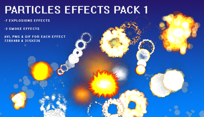 Particles effects pack 1
