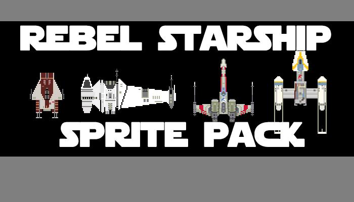 Rebel Starship Sprite Pack