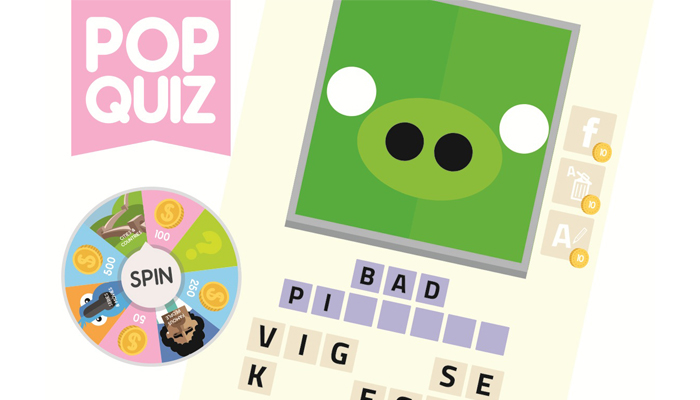 Pop Quiz Guess the Word Game Assets