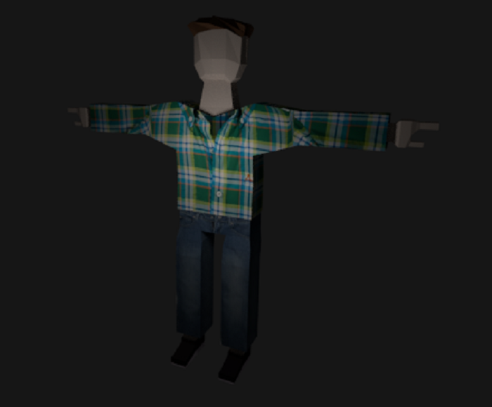 Simple Man Model
