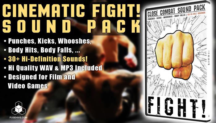FIGHT! Close Combat Sound Pack