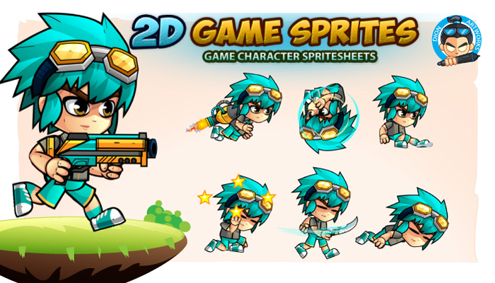 2D- Game Character Sprites 14