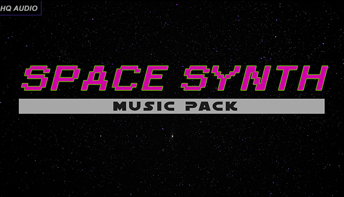 Space Synth Music Pack