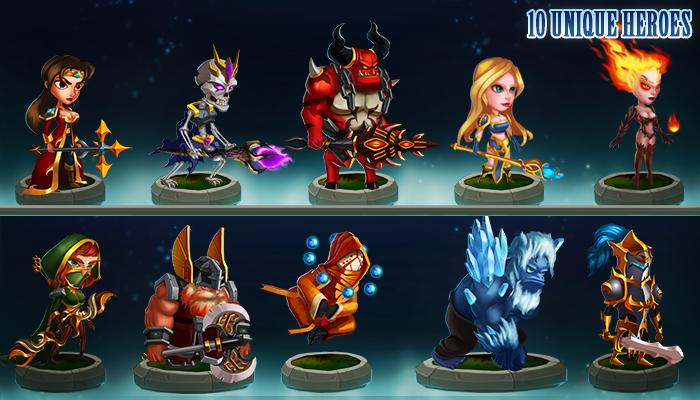 2D Heroes Characters Bundle