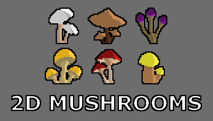 2D Mushrooms