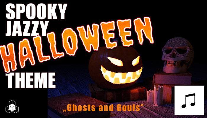 Spooky Jazzy HALLOWEEN Tune – Ghosts and Gouls