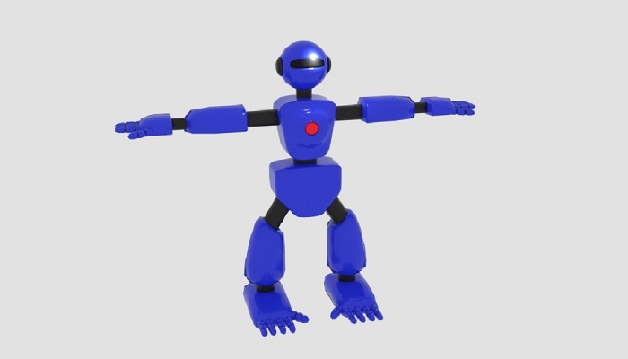 Robot Character Cartoon Bot