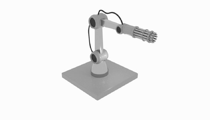 Gun Robot Arm