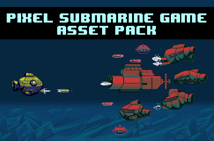 Pixel Submarine Game Pack