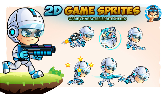 2D- Game Character Sprites