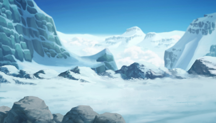 Snowy Mountain Parallax Background