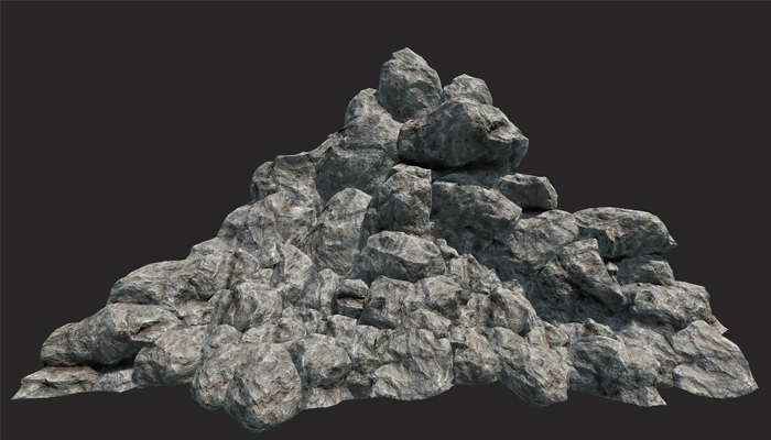 Mountain Rocks Collection PBR