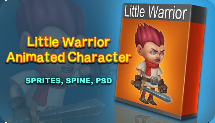 Little Warrior Character